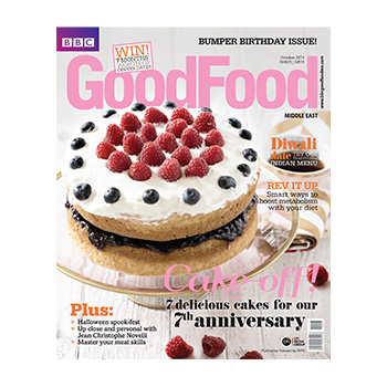 BBC Good Food Middle East Oct 2014 Cover