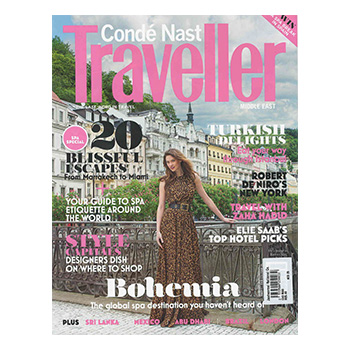Conde Nast Traveller January 2014