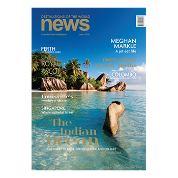 Destinations of the world news June 2015